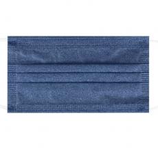 Wholesale denim series color Spunlaced adult disposable daily protective mask 10pcs/boxes