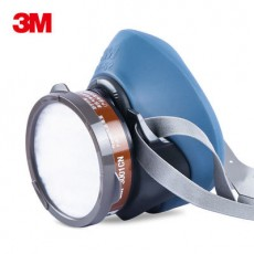 3M HF-52 Single Filter Cartridge Silicone Half Mask Dust-proof Gas Mask Suit