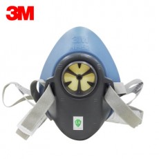 3M HF-52 Single Filter Cartridge Silicone Half Mask Dust-proof Suit