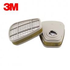 3M 6006CN Multi-purpose Gas Vapor Filter Box Integrated Gas Full-featured Filter Box 2PCS/bag