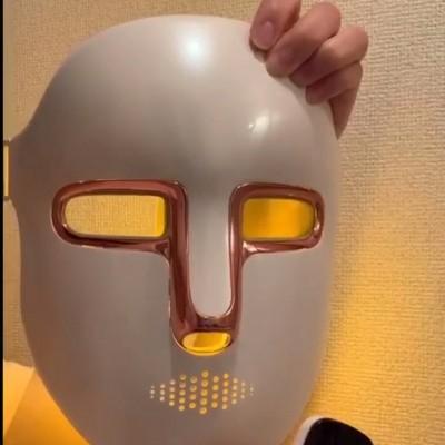 FEIHAI LED Facial Skin Care Mask with 3 Color Light Spectrum Treatment LED Mask for Healthy Skin Rejuvenation