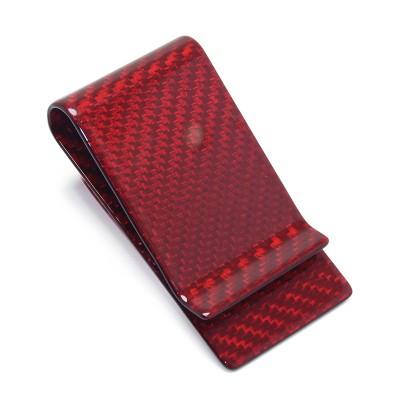 Carbon Fiber Wallet, Bill Clip, Card Holder, Color Plating Change Storage Wallet, Metal Wallet Custom