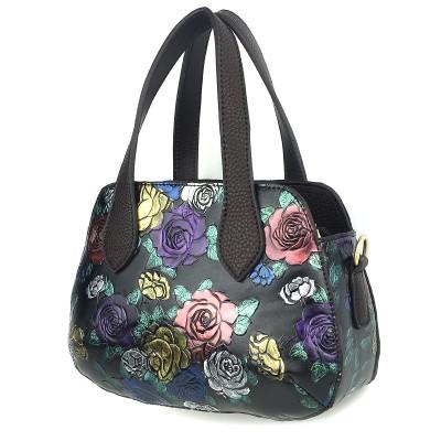 Leather Handbags Hand-painted Handbags Retro Casual Handbags Classic Small Bags For Ladies