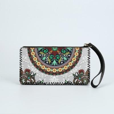 Wholesale Custom Retro Trendy Handbags, Handmade Graffiti Painted Wallets For Ladies