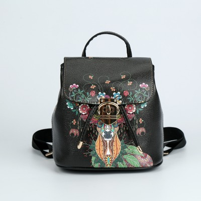 Wholesale Fashion Ladies Hand Graffiti Bags, Ethnic Style Printed Mobile Phone Bags Customized