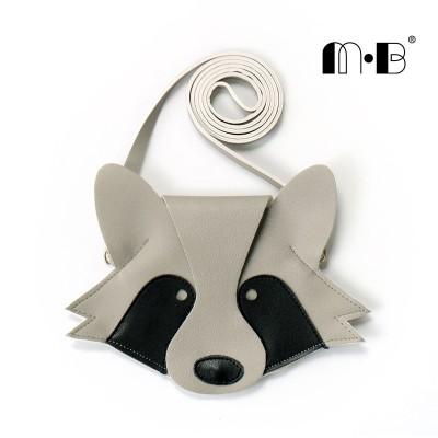 INS Baby Small Bag Children Shoulder Bag Small Raccoon Creative Collocation Cartoon Messenger Bag Animal Shape Bag