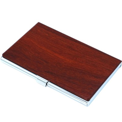 Personalized Business Card Case Storage Card Holder Box Creative Credit Card Storage Box Wooden Card Case
