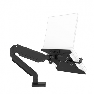 Brateck Laptop Cooling Tray Bracket Universal Tray Accessory Rack Below 15.6-inch NBH-2