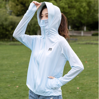 Japanese Sun Protection Clothing Dummer Driving Outdoor UV Protection Ice Silk Breathable Sun Protection Clothing