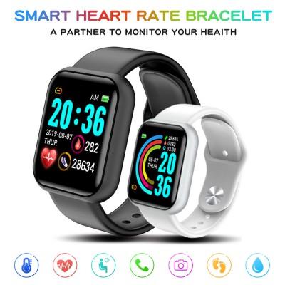 Smartwatch Smart Wrist Watch Intelligent Bracelet Fitness Tracker Band Pedometer Wristband Blood Pressure Heart Rate Monitor