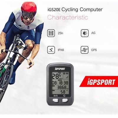 IGPSPORT 20E Road Mountain Bike Odometer GPS Bike Stopwatch