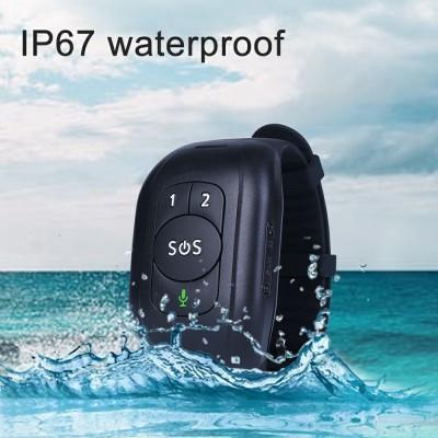 V48 Elderly GPS Watch Positioning Bracelet Anti-lost Heart Rate Blood Pressure Body Temperature Dementia Blind Smart Positioning Watch