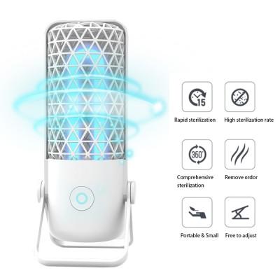 UV Ultraviolet Germicidal Lamp Household Car Portable Disinfection Lamp Small Countertop Sterilization Deodorizer