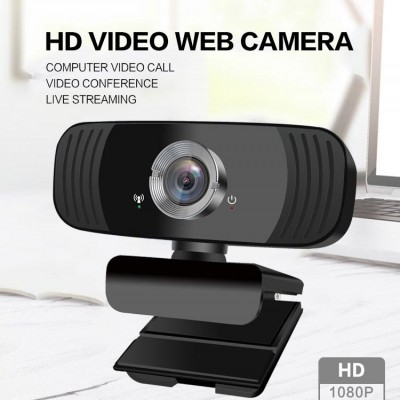 B3 Computer Network HD Video Broadcast 1080P Online Class Meeting With Microphone USB Camera