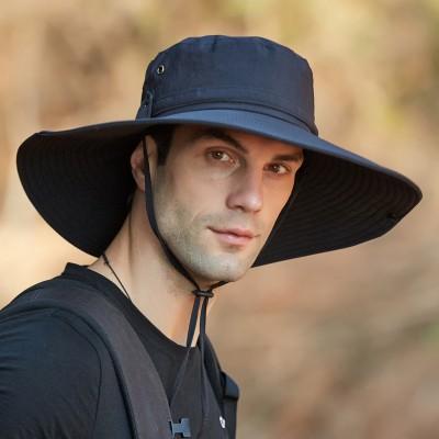 9206 Sun Hat Outdoor Oversized Eaves Fisherman Hat Sun Hat Men's Summer Mountaineering Sun Hat