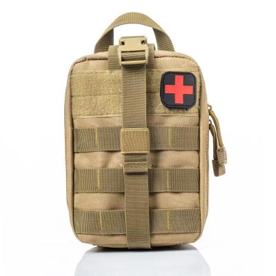Outdoor Waterproof Portable Medical Emergency Rescue Accessory Bag Multifunctional Camouflage Oxford Cloth Tactical Medical Bag