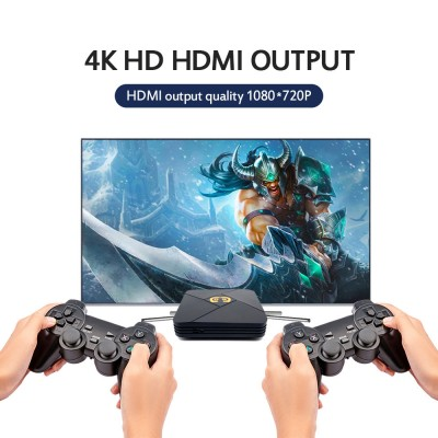 XS-5600 4K HD TV 3D Game Console Android Game Emulator TV Box with Portable Game Controller