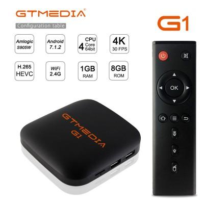 2021 Freesat GT media G1 1G+8G Android Set-top Box TV Box KODI17.3 TV Center