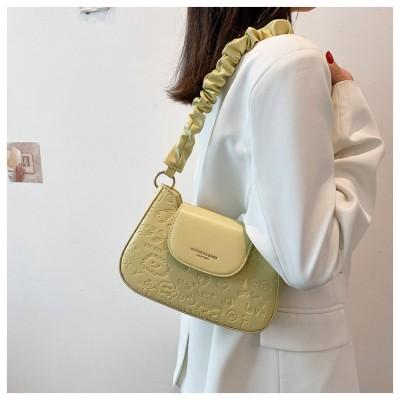 Temperament Messenger Small Square Bag Fashion Embossed Shoulder Handbag Textured Shoulder Bag