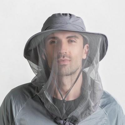 Summer Outdoor Mosquito Hats Sun Hats Large Eaves Sun Hats Mesh Protective Fishing Hats Fisherman Hats