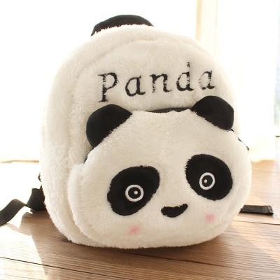 Panda Base Souvenir Cartoon Cute Plush Panda Backpack Fashion Boys and Girls Backpack