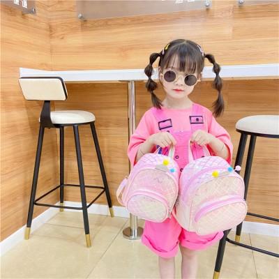 Lucky Piggy Kindergarten Children's Bag Crown One Shoulder Diagonal Leisure Bag Children's Cartoon Backpack