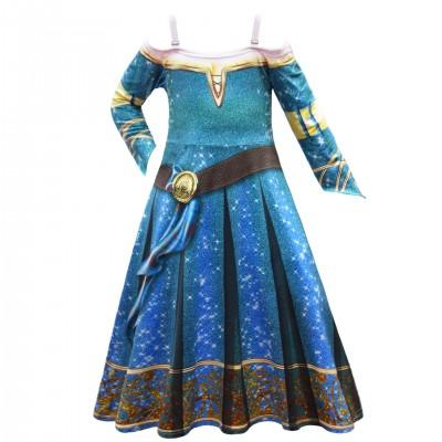 2021 Halloween Braver Bravery Melida Cosplay Dress Up Costume Girls Dress Skirt