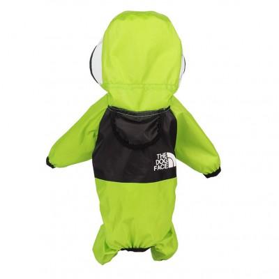 Pet Clothing Four Seasons Universal Raincoat for Dogs Four-legged Clothing Transparent PU Waterproof Clothing