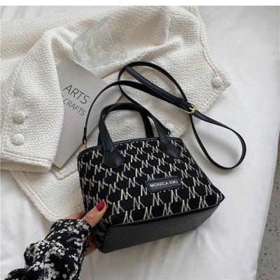 2021 Bag Female Autumn Wild ins Messenger Bag Fashion Hand-carry Bucket Bag Fashion Large-capacity Female Bag