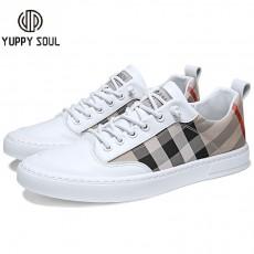 Yuppy Soul 2020 New Men Casual Shoes Lattice Fashion Comfortable Canvas Shoes Men Breathable Hard-Wearing Casual Shoe