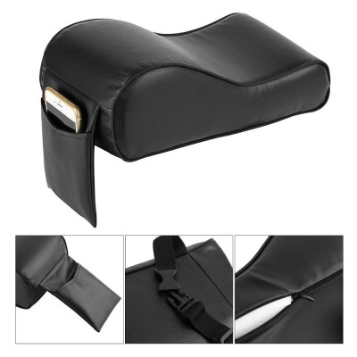 Universal Car Center Console Arm Rest Cover Seat Box Pad PU Leather Armrest Mat  PU Leather Armrest Mat Protective Car Vehicle  Armrest  Auto Seat BoxPads