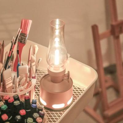 Creative Modern Nostalgic Bedroom USB Induction LED Bedside Lamp