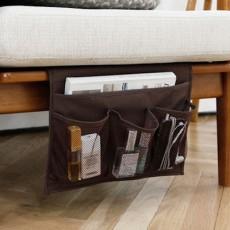 Bedside Storage Organizer Remote Control Holder Armchair Organizer Couch Caddy Sofa Armrest Bag