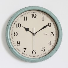 12 inch Vintage Retro Silent Battery Operated Wall Clocks Decorative for Living Room