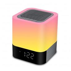 5 in 1 Digital Calendar Alarm Clock Bedside Lamp with Bluetooth Speaker