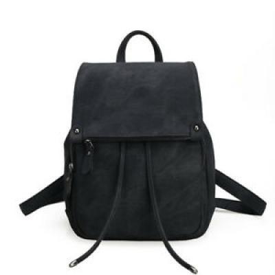 Women Mini Leather Backpacks Small Travel Rucksack Ladies Handbags School Bag
