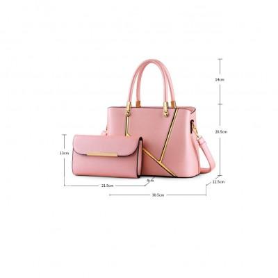 Fashion Women's PU Leather Handbag  mother-Daughter Package Set Crossbody Handbags