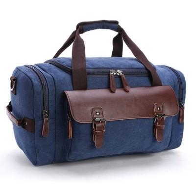 Leather Travel Tote Luggage Bag Weekend Bag Shoulder Handbag Large Capacity
