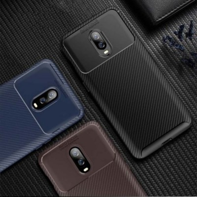 Spessn Carbon Fiber Cover Anti-Scratch Shockproof Skin Case for OnePlus 6T Shell 3 Color ON SALE