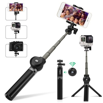 Bluetooth Selfie Stick Tripod Remote Extendable Monopod Shutter For iPhone Android Phone Gopro