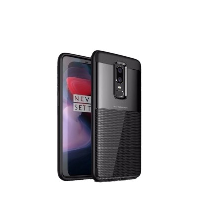 Spessn Carbon Fiber Cover Anti-Scratch Shockproof Skin Case for OnePlus 6 Shell 3 Color ON SALE