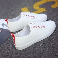 Net red sports white shoes 2021 hot style women's shoes thick bottom shoes couple casual shell tide flat bottom ins tide shoes