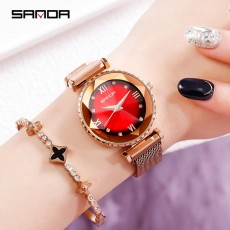 Net red lazy watch female student fashion trend ins college style famous brand temperament ladies quartz watch female