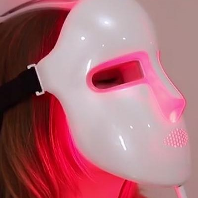 Beauty LED Light Therapy Mask 3 Color Light Treatment Facial Skin Care Mask