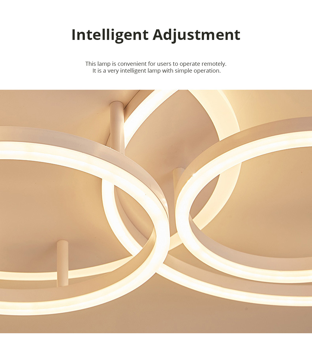 Modern Minimalist Round Led Ceiling Light Creative Nordic Led Ceiling Personalized Lighting Home Dining Room Lamp 5