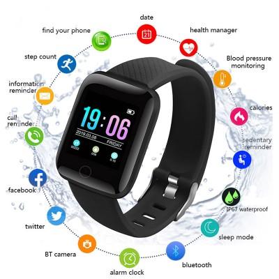 D13 Smart Watch Men Women Fitness Tracker Blood Pressure Wristband Heart Rate Pedometer Waterproof Sports Smart Watches Smartwatch Band
