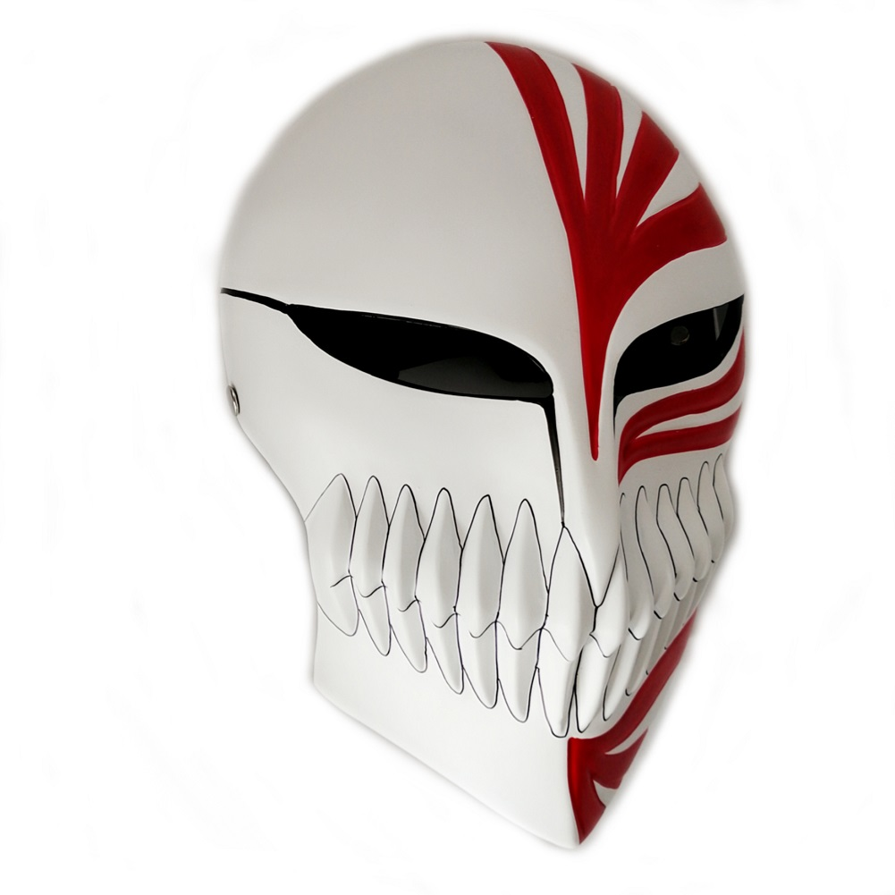 Anime Super Bleach Ichigo Hollow Cosplay Mask 1
