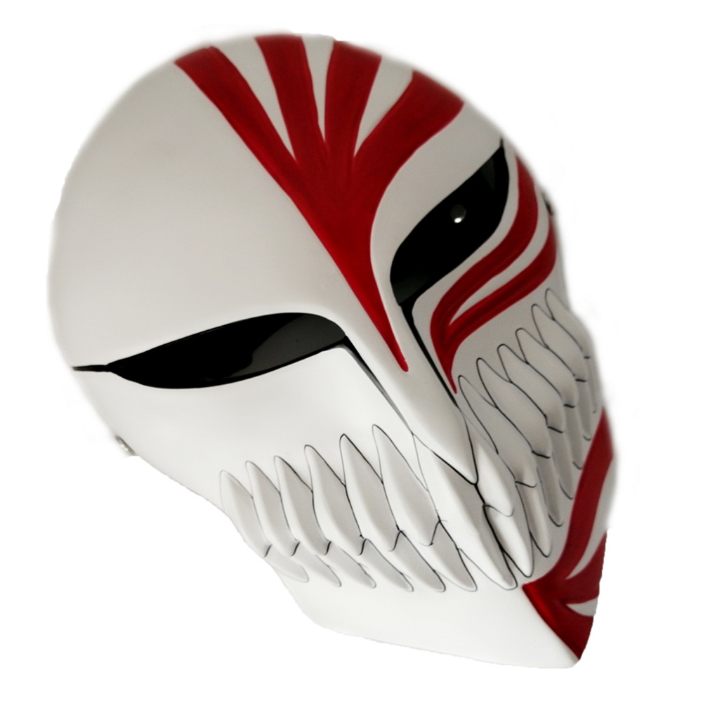 Anime Super Bleach Ichigo Hollow Cosplay Mask 0