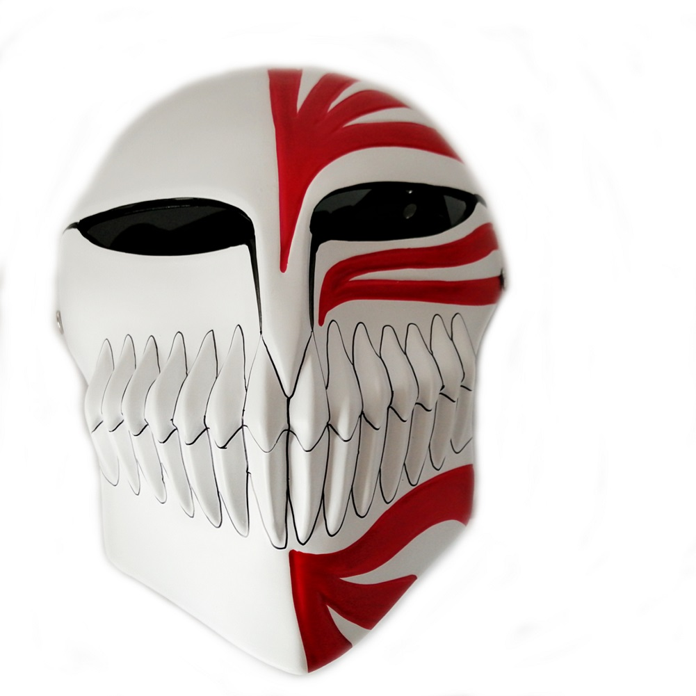 Anime Super Bleach Ichigo Hollow Cosplay Mask 2