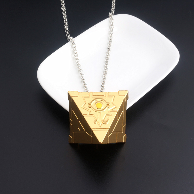 Japanese Anime Duel Monsters Child Pendant Cosplay Necklace 3